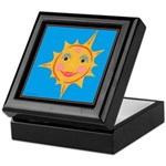 Smiling Sun Keepsake Box