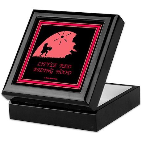 Little Red Riding Hood Keepsake Box