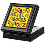 Everyday Objects ABC Keepsake Box