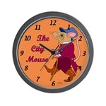 The City Mouse Wall Clock