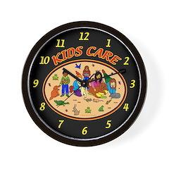 Kids Care Wall Clock