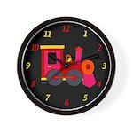 Choo-Choo Train Wall Clock