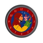 Puppets Wall Clock