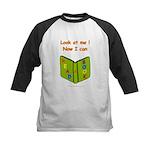 I Can Read a Book Kids Baseball Jersey