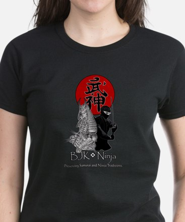 BJK Ninja Women's Dark T-Shirt