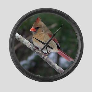 Georgia Birds Large Wall Clock