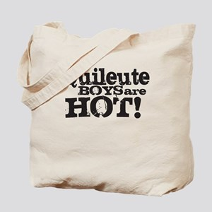 Quileute Boys Are Hot! Tote Bag