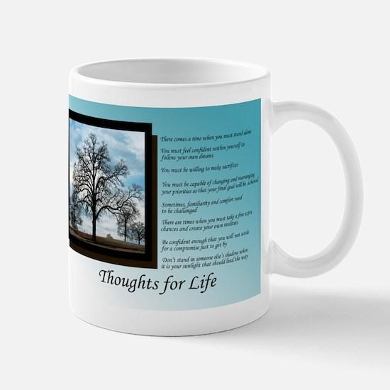 Unique Thoughts life Mug
