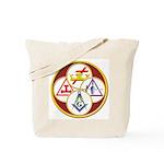 Masonic York Rite Circle Tote Bag