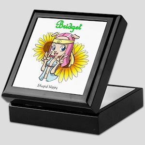 """Stupid Hippy"" Bridget Keepsake Box"