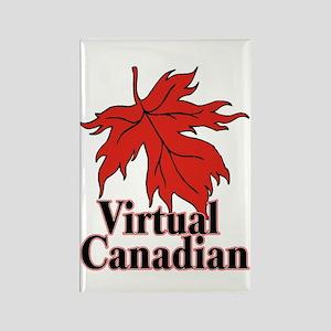 Virtual Canadian Rectangle Magnet