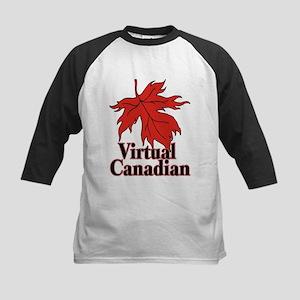 Virtual Canadian Kids Baseball Jersey