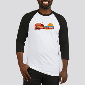 Narragansett RI - Surfing Design Baseball Jersey