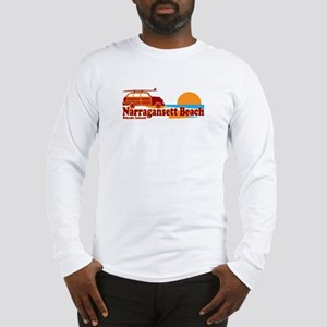 Narragansett RI - Surfing Design Long Sleeve T-Shi