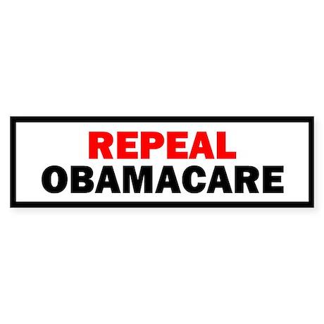 Repeal Obamacare Sticker (Bumper)