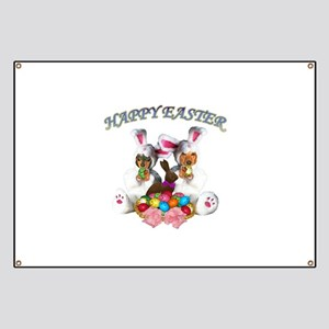 Easter Doxies Banner