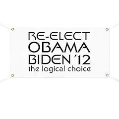 Logical Obama 2012 Banner