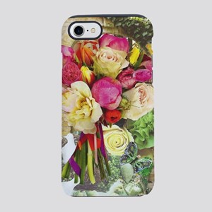 Vibrant Peonies and Roses iPhone 8/7 Tough Case