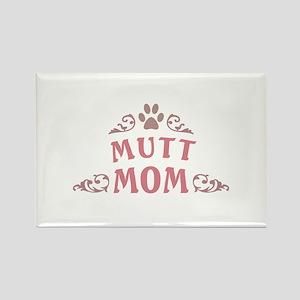 Mutt Mom Rectangle Magnet