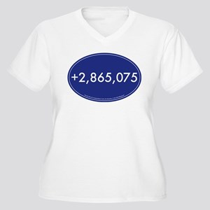 +2,865,075 Votes Plus Size T-Shirt