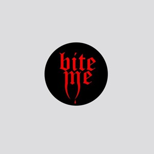 'Bite Me' Mini Button