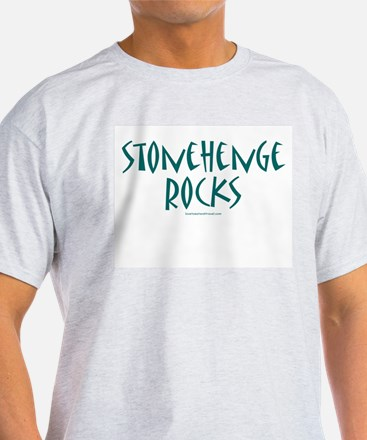 Stonehenge Rocks - Ash Grey T-Shirt