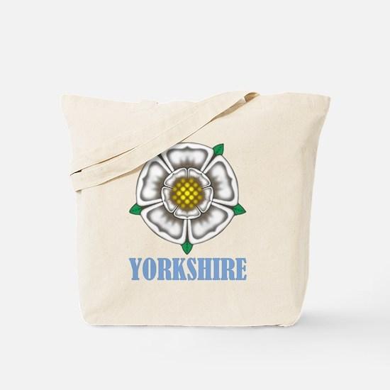 White Rose of York Tote Bag