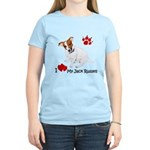 Love My Jack Russell Terrier Women's Light T-Shirt