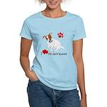 Love My Jack Russell Terrier Women's Light T-Shirt