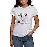 Love My Jack Russell Terrier Women's T-Shirt