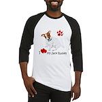 Love My Jack Russell Terrier Baseball Jersey