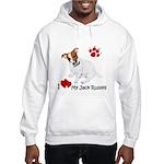 Love My Jack Russell Terrier Hooded Sweatshirt