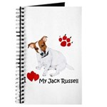 Love My Jack Russell Terrier Journal