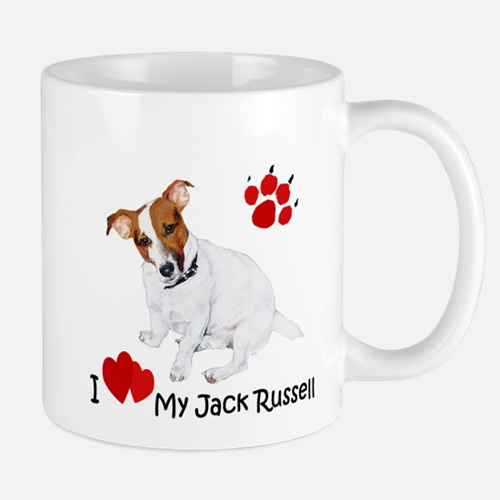 Love My Jack Russell Terrier Mug