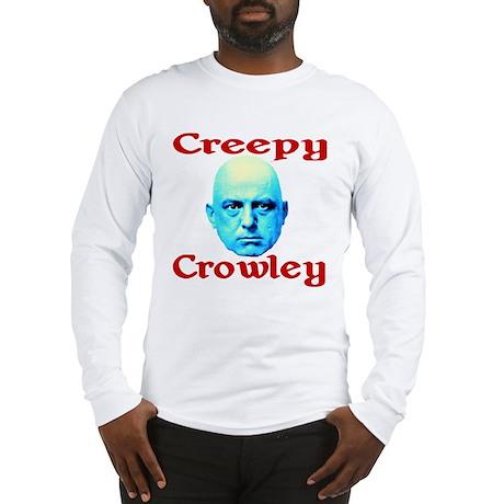 Creepy Crowley Long Sleeve T-Shirt