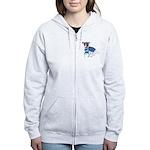 Jack Russell, Grey's Anatomy Women's Zip Hoodie