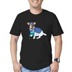 Jack Russell, Grey's Anatomy Men's Fitted T-Shirt