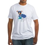 Jack Russell, Grey's Anatomy Fitted T-Shirt