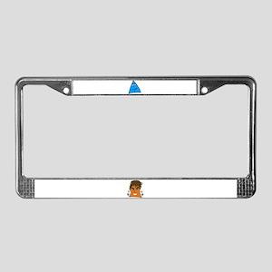 Sneables License Plate Frame