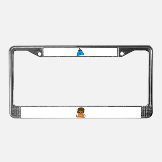 Sneables License Plate Frame