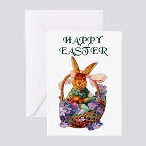 Vintage Easter Bunny Greeting Cards (Pk of 20)