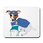 Jack Russell Scrubs Mousepad
