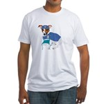 Jack Russell Scrubs Fitted T-Shirt