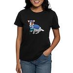 Jack Russell Scrubs Women's Dark T-Shirt