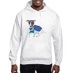 Jack Russell Scrubs Hooded Sweatshirt