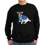Jack Russell Scrubs Sweatshirt (dark)