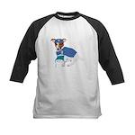 Jack Russell Scrubs Kids Baseball Jersey
