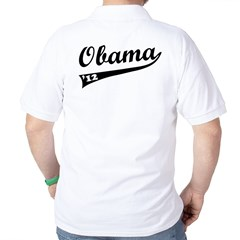 Obama 2012 Swish Golf Shirt
