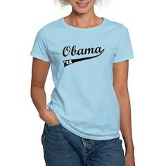 Obama 2012 Swish Women's Light T-Shirt