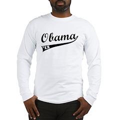Obama 2012 Swish Long Sleeve T-Shirt